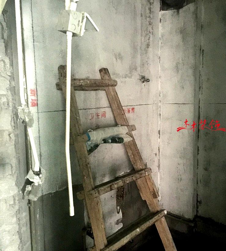 成都木木装修队水电施工进场 装修现场