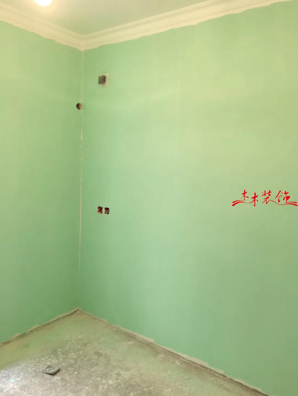 成都双桂社区36号院,墙面上面漆。