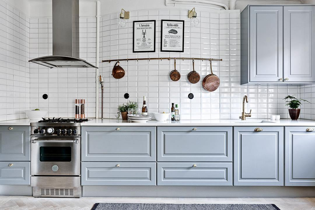 现代化厨房装修,这样装修出来特别有科技感