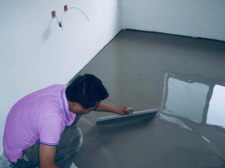 成都装修队装修卫生间厨房装修漏水丙纶防水施工