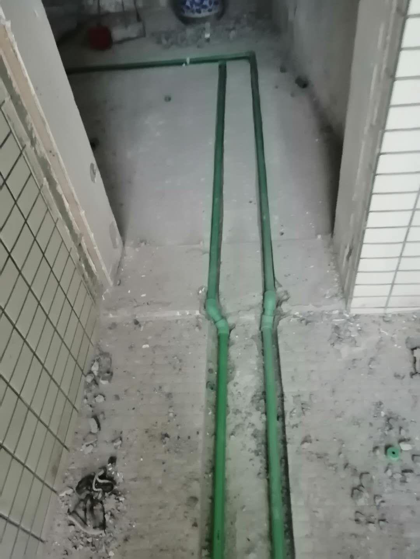成都水云花都水电改造施工现场 装修现场